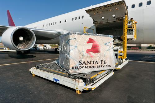 авиаперевозка вещей за границу контейнером