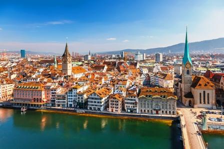 Города Европы. Цюрих