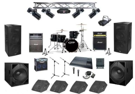 Концертное оборудование