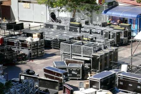 концертное оборудование перевезти за границу