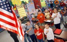 Школьники в США