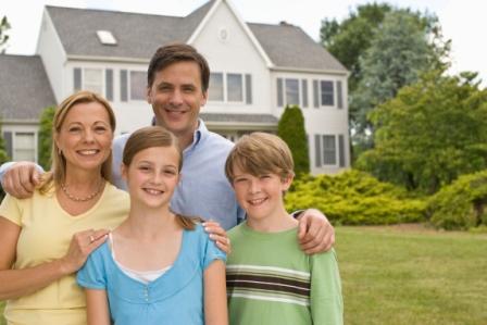 Американская семья переезжает