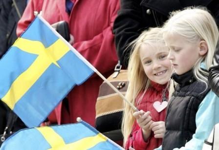 Дети в Швеции