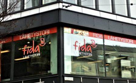 Магазин в Финляндии