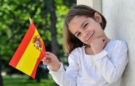 Ребёнок в Испании